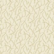 Braveheart by Makower UK - 6643 - Floral Chains in Cream & Beige  - 9179_RL - Cotton Fabric